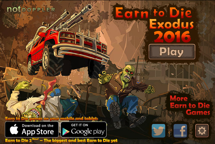 Play Earn to Die 2016